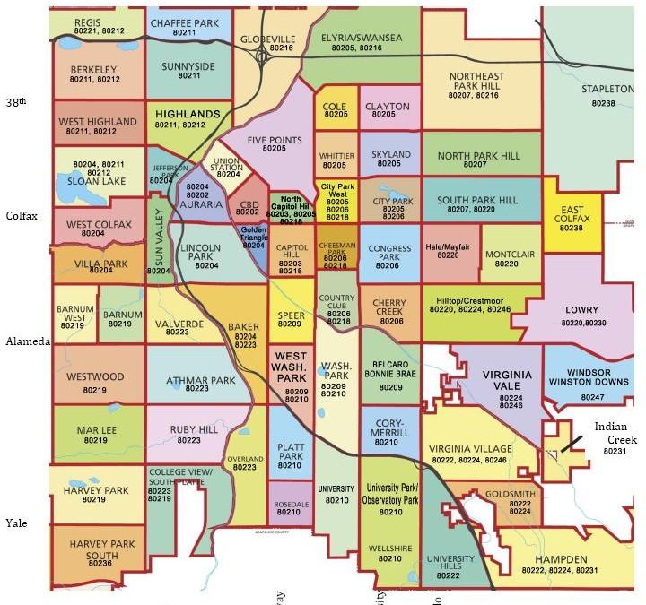 Denver's Best Neighborhoods