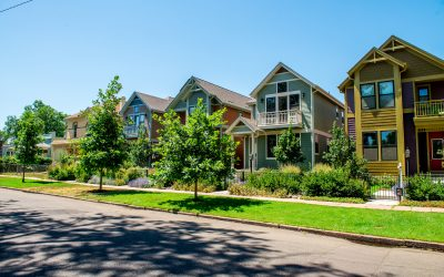 Take a look at what's going on with Denver's square townhomes.